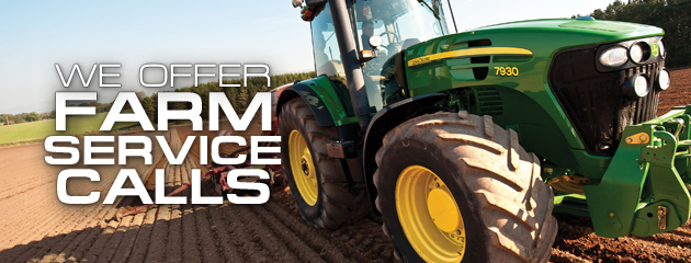 We Offer On-Site Farm Service Calls