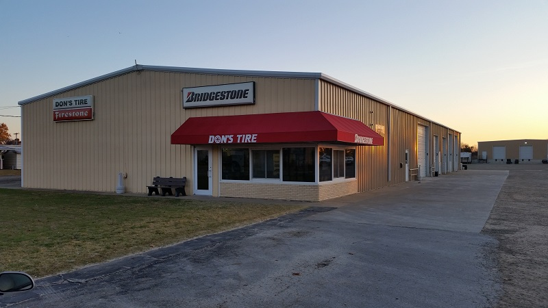 Our Location at Don's Tire & Supply in Abilene, KS 67410
